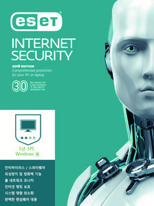 ESET Internet Security 패키지 1년